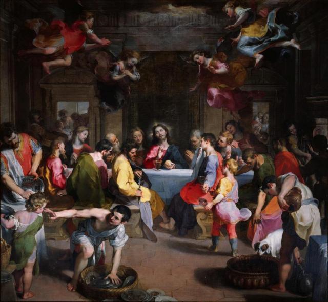 Barocci, Federico (1526-1612): Last Supper. Urbino