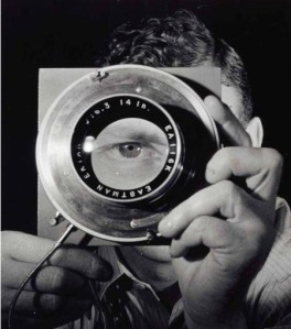 Erwin Blumenfeld - Self-portrait 1932