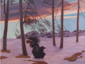 carlo fornara Le vent d'Aquilon 1902-4