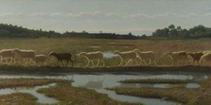 giuseppe pellizza da volpedo Le miroir de la vie 1895-8