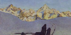Oskar Luthy requiem dans les Alpes