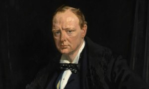 Churchill portrait by William Orpen 1916