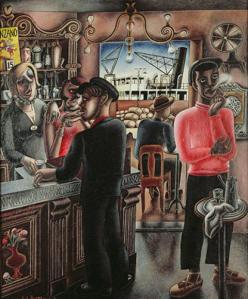 dockside-cafe-marseilles-by-edward-burra