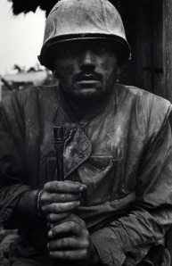 Don McCullin - Shell Shocked US Marine, Vietnam, 1968