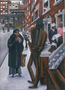 Harlem 1934 by Edward Burra 1905-1976