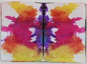 Untitled (Rorschach) 1999