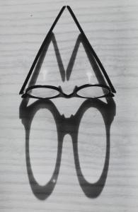 Gyulia Holics - Glasses and Shadow c.1955