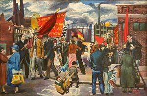 branson demo in battersea 1939
