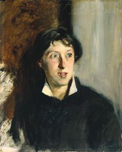 Vernon Lee 1881 by John Singer Sargent 1856-1925