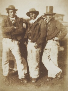 Hill and Adamson Newhaven fishermen circa-1845