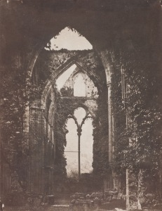 John Wheeley Gutch - Abbey Ruins c.1858