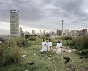 Mikhael Subotzky & Patrick Waterhouse - 'Ponte City from Yeoville Ridge' 2008