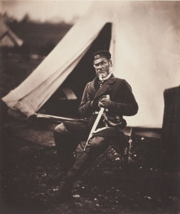 Roger Fenton-Captain Mottram Andrews 28th Regiment 1st Staffordshire Regiment of Foot-1855