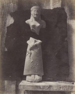 Salzmann - a Cypriot statue 1858-65