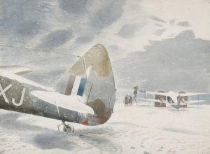 de-icing aircraft 1942