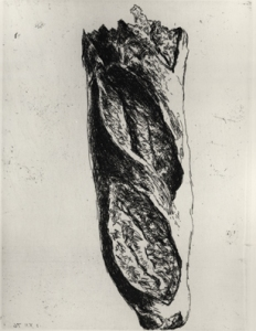 Le Pain 1976 etching