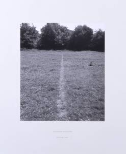 A Line Made by Walking 1967 Richard Long born 1945 Purchased 1976 http://www.tate.org.uk/art/work/P07149