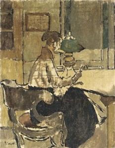 Christine Drummond Sickert (nee Angus) buys a Gendarmerie c.1920