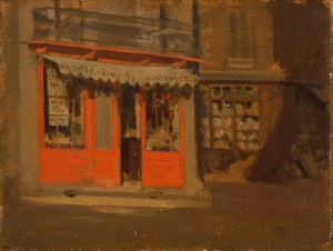 The Red Shop (The October Sun) c.1888