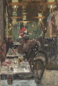 Au Cafe Concert, Vernet's Dance Hall, 1920