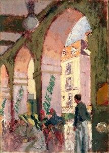 Cafe Suisse, Dieppe 1914
