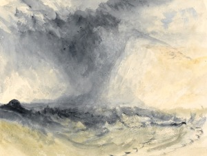 Shakespeare-Cliff, Dover, c.1825, wc, Turner