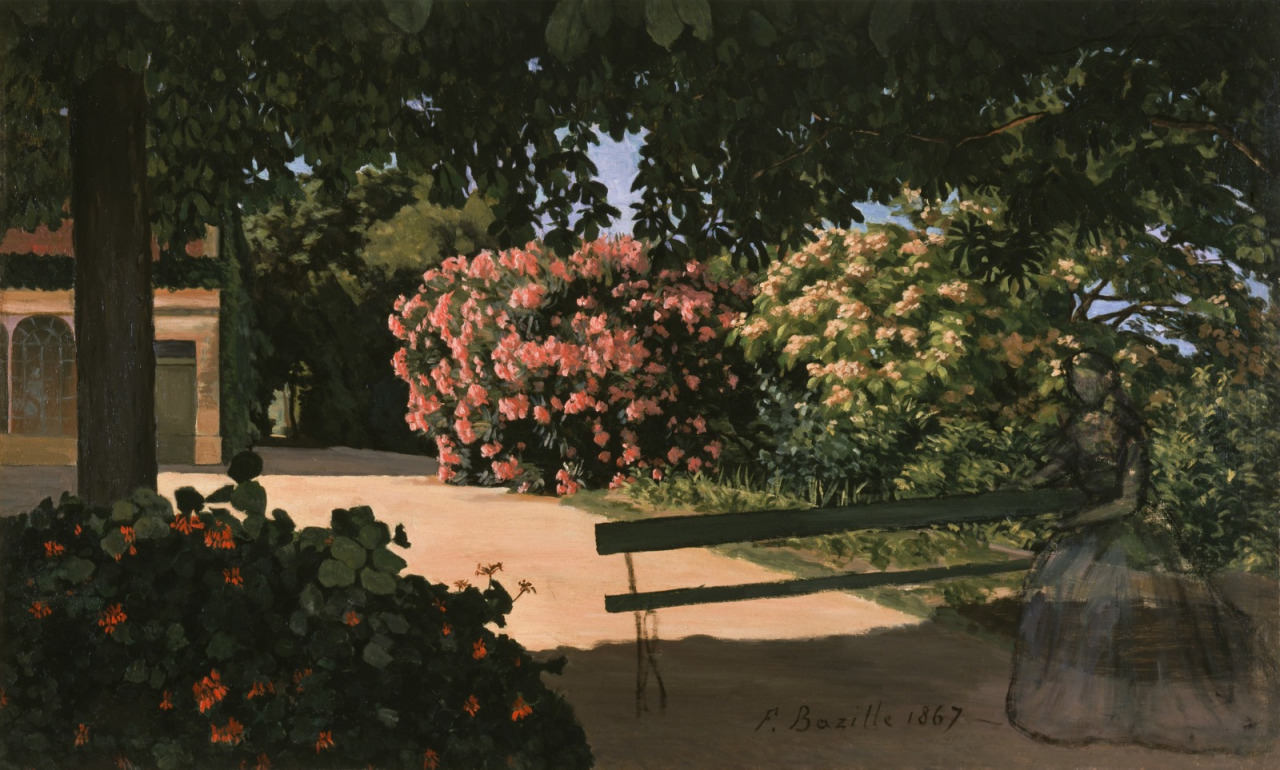 Gardens, Monet and other Artists – what kitty saw today …