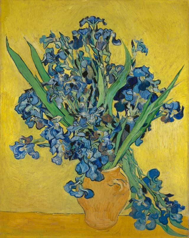 Vincent van Gogh (1853-1890), Irises, 1890 Saint Rémy-de-Provence © Van Gogh Museum, Amsterdam (Vincent van Gogh Foundation)